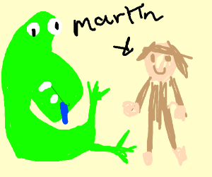 Dino and Martin