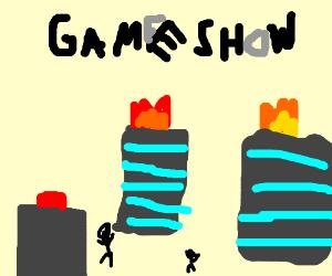apocalyptic game show buzzer
