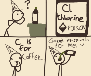 C is for Coffee, That's good enough for Me...