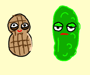 Pickle and Peanut Butter