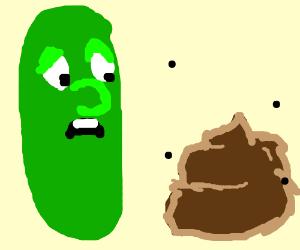veggies and a POOP