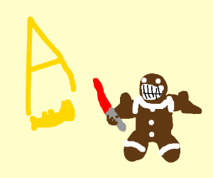 gingerbread man vs jazza