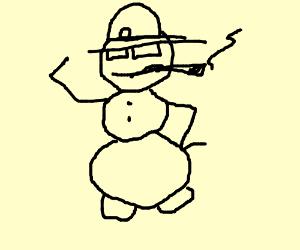 Questionable Snowman - Drawception  Dank Frosty Snowman