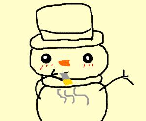 Merriment - Imgflip  Dank Frosty Snowman