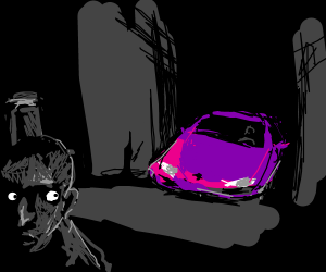 Got That Purple Lamborghini Lurkin Drawception