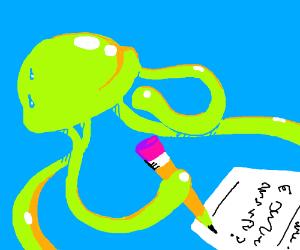 Green jellyfish needs a 100.