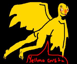 Yelmo's Bizarre Adventure(Yelmo has JoJo face)