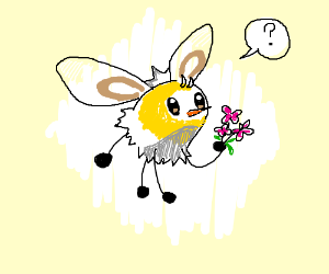 cutiefly offers you some flowers