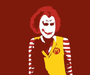 Ronald Mc Donald is the new Joker