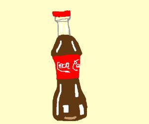 A really good coca cola drawing