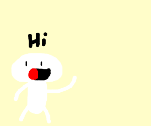 Little Odd1sOut Kid saying Hi