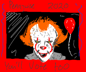 USA Pennywise you'll vote too