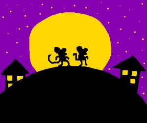 Mice in the night