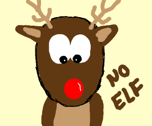 Rudolph Isnt an Elf