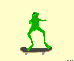 He was a sk8r boi