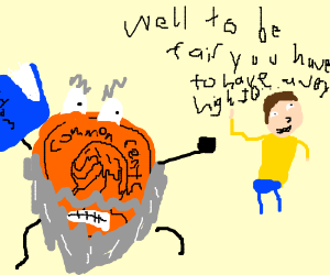 Pennywise attacks Morty