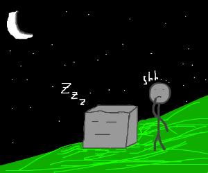 Shhh, my cube is alseep