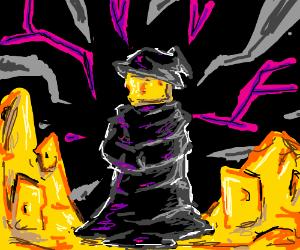 the dark cheese mage