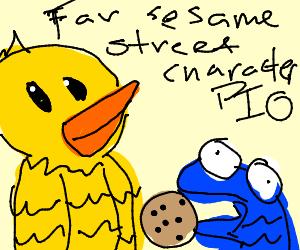 Favourite Sesame Street Character PIO