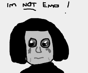 Kylo Ren tries to convince others he's not emo