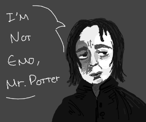 Snape is not emo