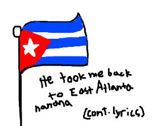 Half of my heart is in Havana ooh-na-na (Cont) - Drawception