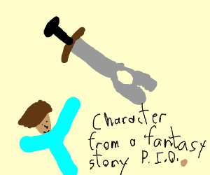 draw a character for a fantastic story PIO