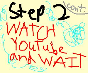 Step 1 : Start a step by step game