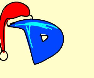 drawception santa wishing Merry Christmas