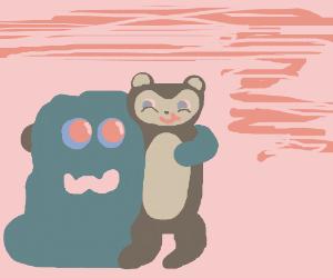 Slime monkey is loved
