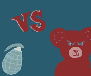 TEDDY BEAR vs Granade