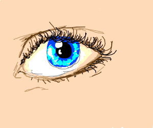 Hyper-realistic eye.