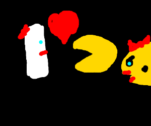 PAC man in love