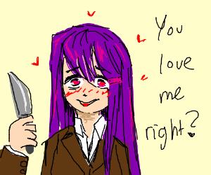 I love you, Violet Girl