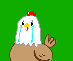 Crying Chicken Drawception