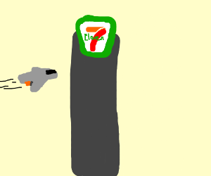 if the Drawception logo competed in BFDI - Drawception