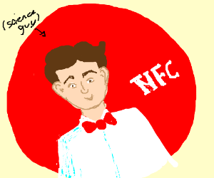 Bill Nye is on the logo for KFC (now NYE)