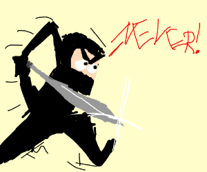 ninja will not affirm