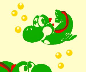 yoshi is a FISH