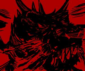 Man enjoys being eaten by dragon