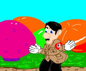 Hitler loves spaghetti