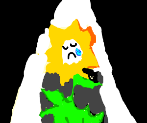 flowey shoots himself while crying
