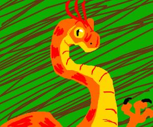 Ornithomimus?
