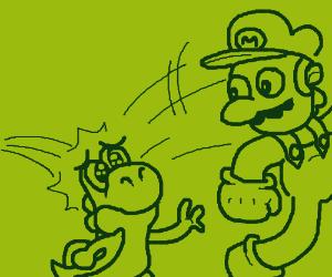 The Infamous Mario/Yoshi Death Jump