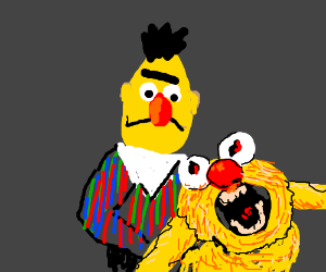 Bert cheats on ernie with yellmo