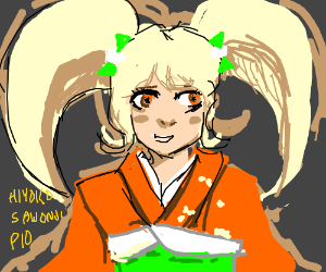 Hiyoko Saionji P.I.O. Skip if you don't know!