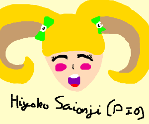 Hiyoko Saionji PIO (Pass it on)