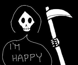 Grim reaper, content.
