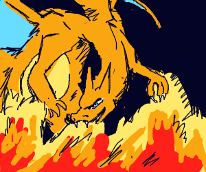 Charizard used Flamethrower!