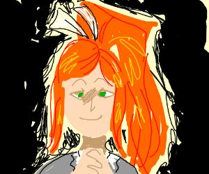 Will Monika become a meme? - Drawception